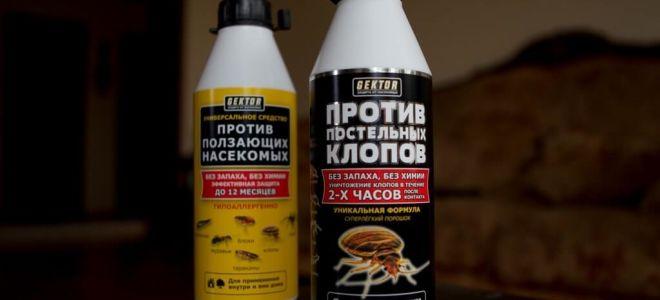 GEKTOR ضد البق الفراش والحشرات الزاحفة