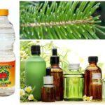 الزيوت الأساسية والإبر والخل
